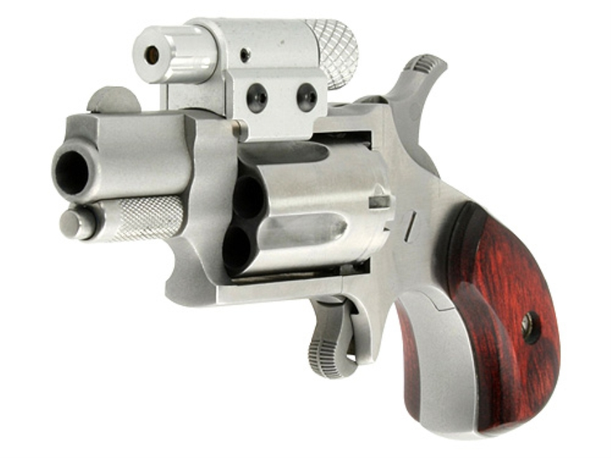 LaserLyte North American Arms 22LR and 22 Mag Laser Sight Red Laser with  Mount Silver